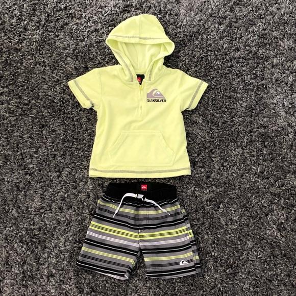 790740de5acbe Quiksilver Shirts & Tops | Quicksilver Swim Set | Poshmark